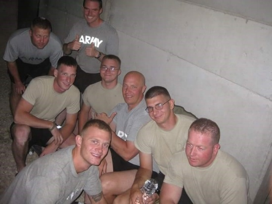 Eric and Team During Incoming Artillery Fire-550px.jpg