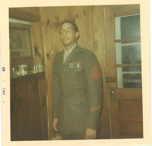 Uncle Major Melvin C. Woodford, Marines.png