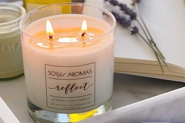 Soyful Aromas is based in Hayward, CA.