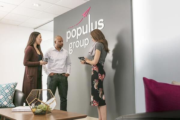 Populus Group is an employment solutions company built on the belief that everybody deserves the opportunity to succeed.