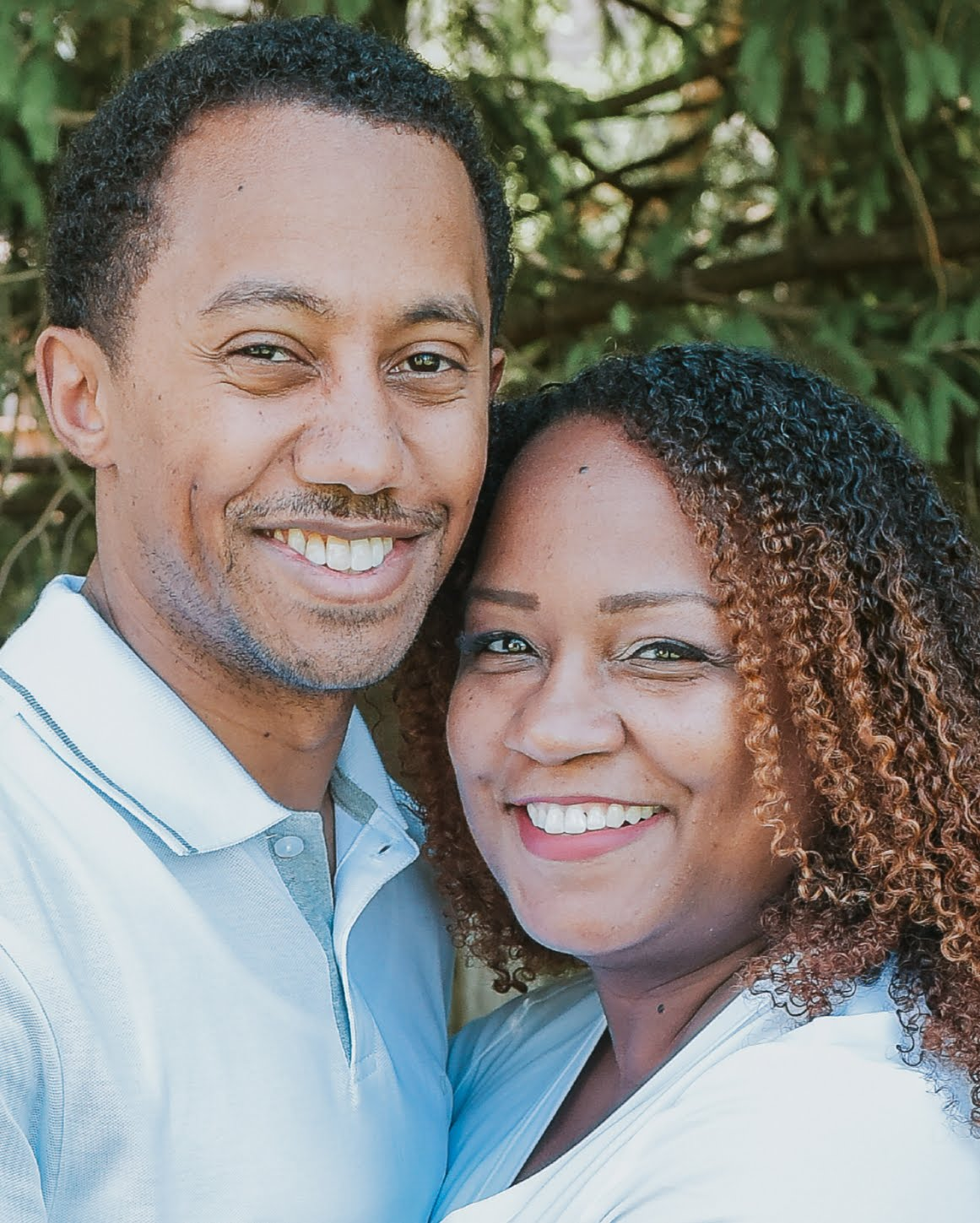 "Mario Lambert is a director of strategic sales and partnerships at Populus Group. Here he is pictured with his wife, Tanesha Lamber, who is starting the ""guilt-free ambition"" movement for entrepreneurial moms."