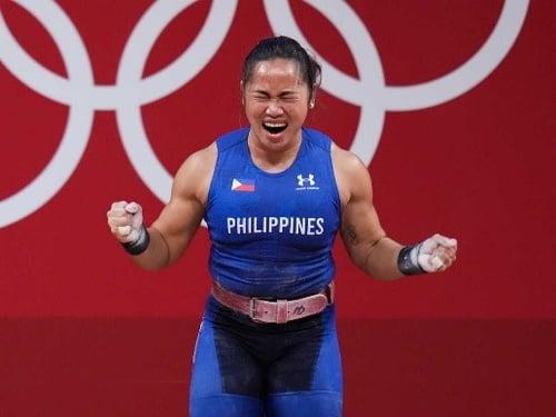 Photo of weightlifter Hidilyn Diaz