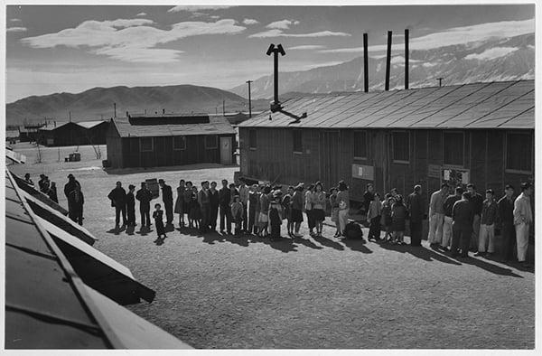 Mess Hall Manzanar California Relocation Center Japanese Internment