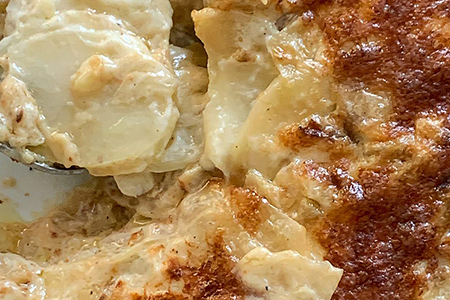 Potato Fennel Gratin