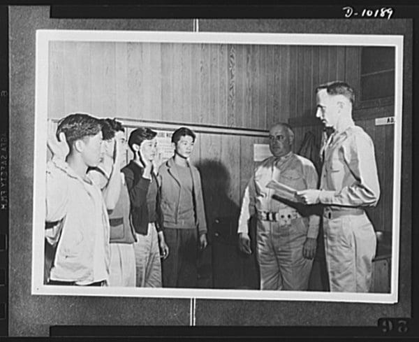 WWII Japanese American Volunteers