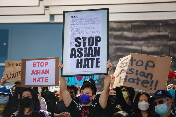 Stop Asian hate by Jason Leung