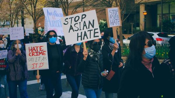 Stop Asian Hate by Kareem Hayes